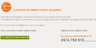 Site internet activit commerciale for Maison de valerie catalogue
