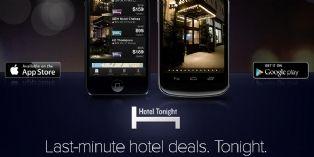 Hotel Tonight lève 45 millions de dollars