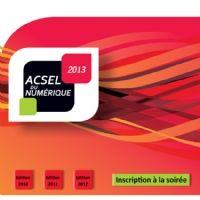 Les lauréats des Acsel du Numérique 2013, en vidéo (catégories e-transformation et services publics)