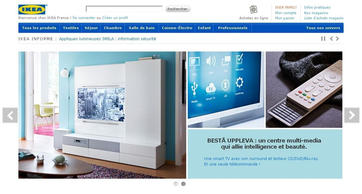 ikea ouvre un drive click collect. Black Bedroom Furniture Sets. Home Design Ideas