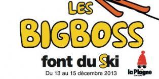 ' Les Big Boss font du Ski ' s'échauffent...