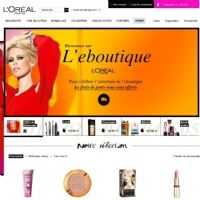 L'Or�al Paris ouvre boutique sur Internet
