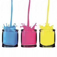 cmyk farb gl%oser isoliert