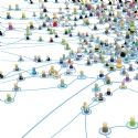 Cartoon Crowd Links, Layered System Close-Up