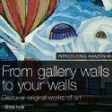 Amazon se lance sur le marché de l'art en ligne