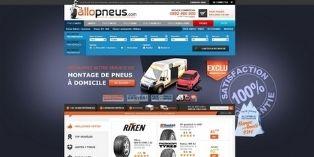 Comment Allopneus.com a vendu 2,5 millions de pneumatiques en 2013