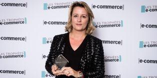 Valérie Dassier (Comptoir des cotonniers) , élue personnalité e-commerce de l'année 2014