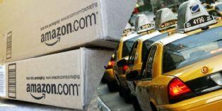 Amazon teste la livraison en taxi