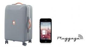 Delsey lance une valise connectée