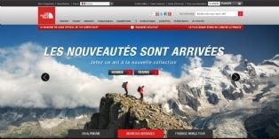 The North Face à l'assaut du Web