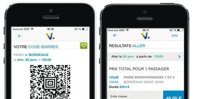 Voyages-sncf.com : quand le smartphone devient un réel assistant personnel