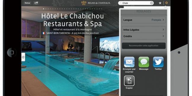 [Mobile] Relais & Châteaux: le goût de la modernité