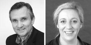 Olivier Piettre, dg de follow the sun et Marie Scholasch, responsable e-commerce & CRM d'Expertime