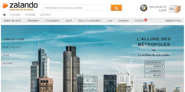 Zalando : croissance de 35% du chiffre d'affaires au 1er trimestre 2014