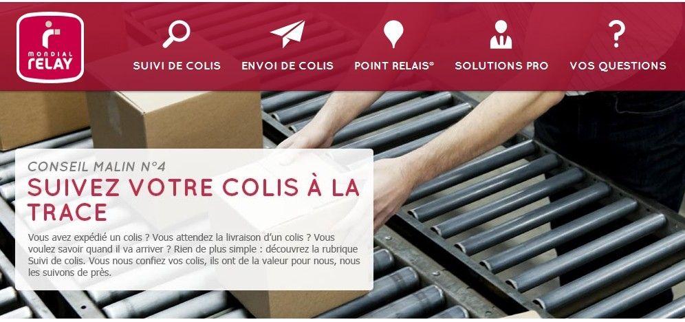 E stock control le nouveau service web to shop de - Mondial relay paris ...