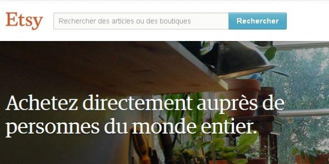Etsy rachète la startup française A Little Market
