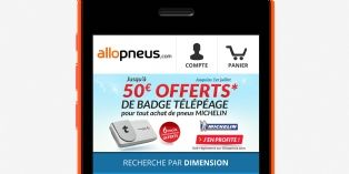 Allopneus prend le virage du mobile