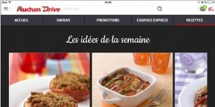 Auchan Drive : une nouvelle application mobile multidevice
