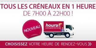 Houra.fr lance la livraison en 1 h