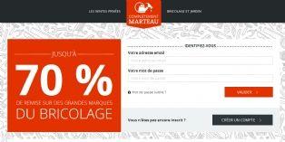 Complètement-Marteau : les ventes privées appliquées au bricolage