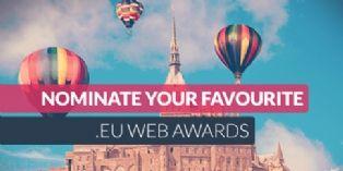 EURid lance le concours en ligne 'Web Awards .eu'