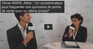 E-Commerce Paris 2014: Entretien vidéo avec Olivier Marx, fondateur d'Altics