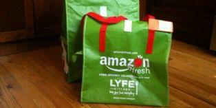 Avec AmazonFresh, acheter des produits frais en ligne et se les faire livrer par 'La Poste'