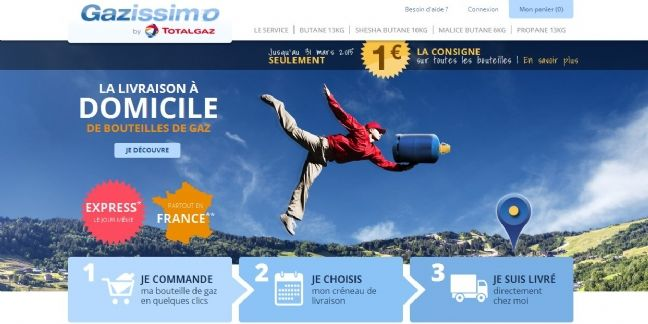 Gazissimo.fr : l'achat de gaz en un clic signé Totalgaz