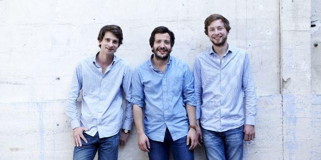 Thomas Diez, Samy Ziani et Emmanuel Denieau, les trois fondateurs de la start-up Hast.