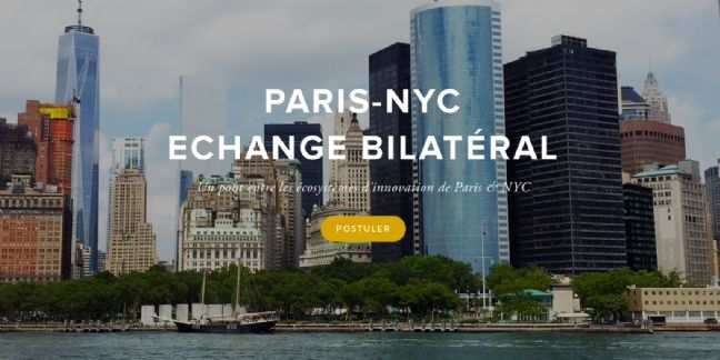 Paris lance un concours de start-up pour conquérir New York