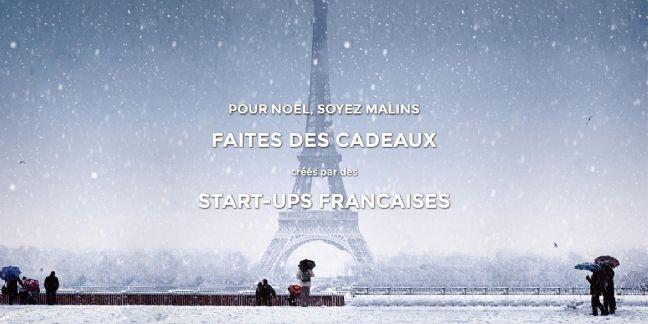 Capture d'écran de la page d'accueil de Noeldelafrenchtech.fr.