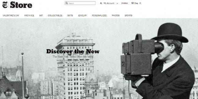 Comment le New York Times accélère dans l'e-commerce