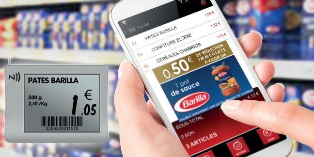 Intermarché digitalise les courses en magasin