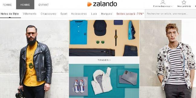 Zalando rentable pour la première fois en 2014