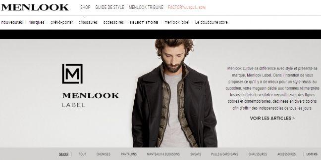 Menlook lance une place de marché premium