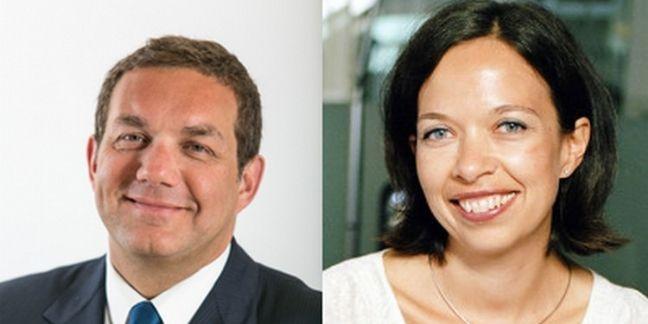 Thierry Pelissier (Directeur marketing de Carrefour France) et Valérie Piotte (Directrice générale de Publicis Shopper)