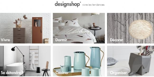 Designshop : la nouvelle boutique Amazon dédiée au design