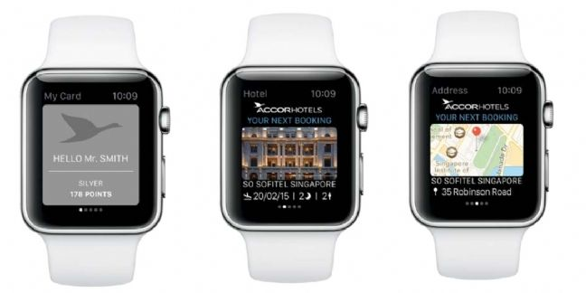 Accor lance une application destinée à l'Apple Watch