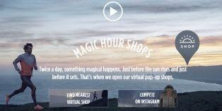 [Idée d'ailleurs] Une marque de sport suédoise crée des pop-up stores virtuels en pleine nature