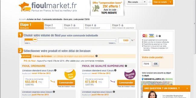 Fioulmarket.fr rassure ses clients grâce au tchat