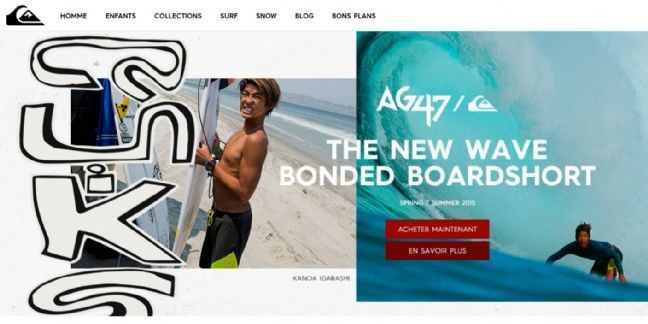 Quiksilver face à la vague du digital