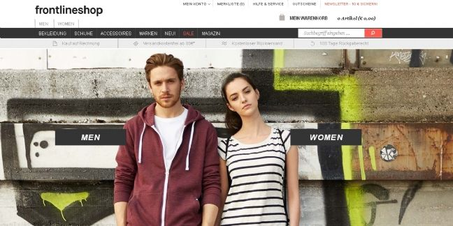 Menlook Group rachète l'allemand Frontline shop