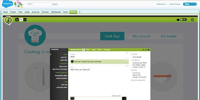 iAdvize lance un connecteur en collaboration avec Salesforce