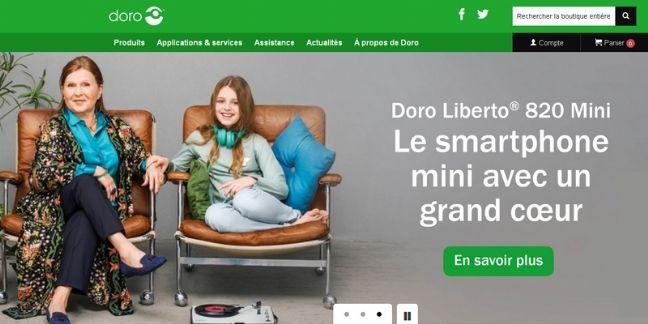 Doro ouvre son premier site marchand