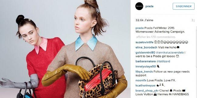 Instagram : nouvelle marketplace du luxe ?