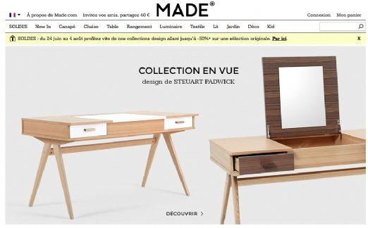 Made.com lève 60 millions de dollars