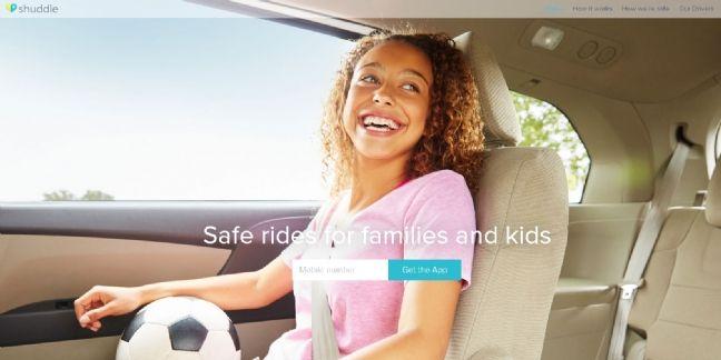 Shuddle lance un service de covoiturage destiné aux enfants