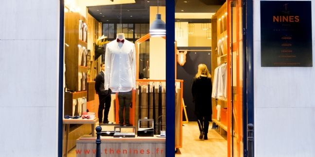 Boutique THE NINES dans le quartier de la Madeleine à Paris