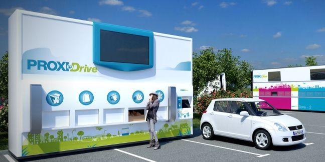 Proxidrive : l'aire de livraison 2.0 selon Colispratic et Savoye