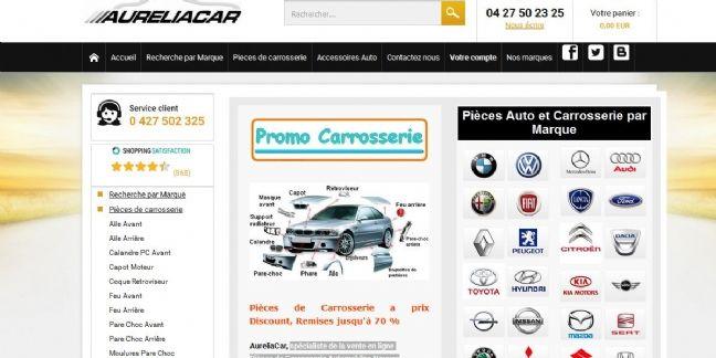Aureliacar.com : le site de pièces auto qui monte